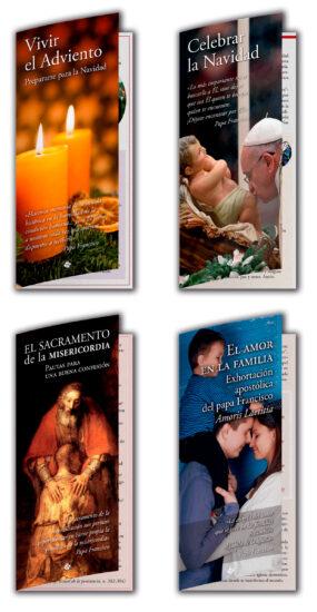 plan anual intergentes parroquias desplegables adviento navidad