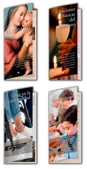 plan anual intergentes parroquias desplegables rosario y bendiciones